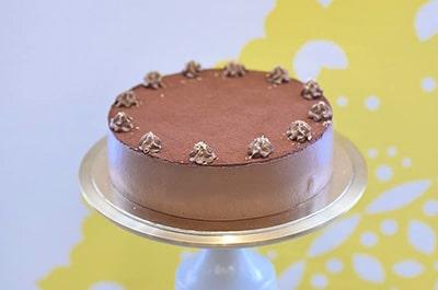2018. Körtés csokoládémousse torta